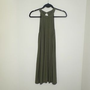 Halter dress keyhole back